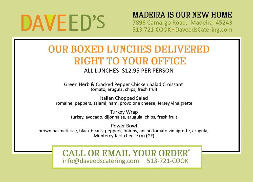 Daveed's Boxed Lunch
