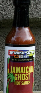 Jamaican Ghost Hot Sauce