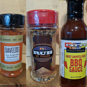 BBQ sauce and seasonings